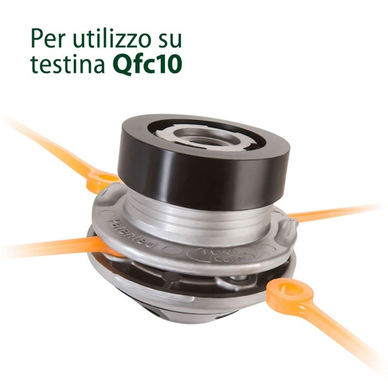 Il filo a lamelle MonoSega Flash Cutter 3,5 mm è un ricambio originale per testine falcianti Flash Cutter Qfc10