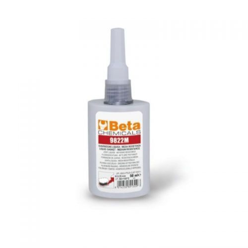Guarnizione liquida media resistenza Beta Chemicals 9822M da 50 ml